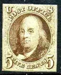 1847 Franklin 5c