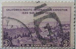 1935 California Pacific Expo 3c