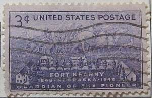 1948 Ft. Kearny 3c