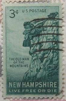 1955 New Hampshire 3c