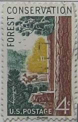 1958 Forest Conservation 4c