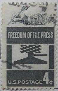 1958 Freedom of the Press 4c