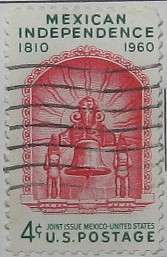 1960 Mexican Independence 4c