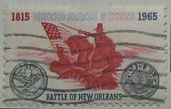 1965 Battle of New Orleans Sesquicentennial 5c