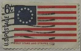 1968 First Stars and Stripes 6c