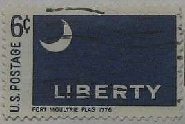 1968 Ft. Moultrie Flag 6c