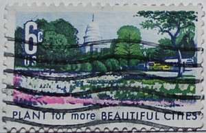 1969 Beautification of Cities 6c