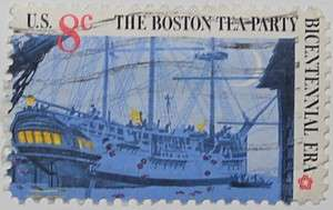 1973 Boston Tea Party - Three-Master 8c