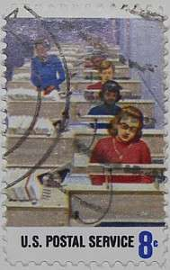 1973 Postal Workers - Electronic Routing 8c