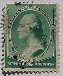1887 Washington 2c