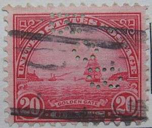 1931 Golden Gate 20c