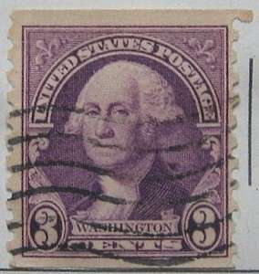 1932 Washington 3c Vertical Coil