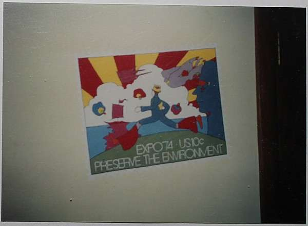 Expo '74 painting