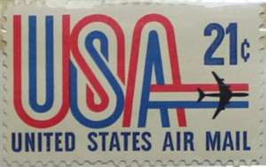 1971 USA and Jet 21c Mint