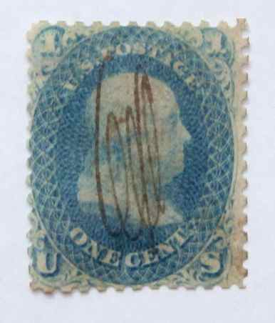 1861 Franklin 1c - USC 11