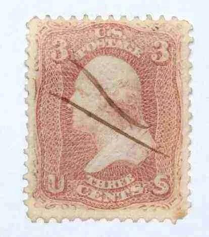 1861 Washington 3c - USC 13