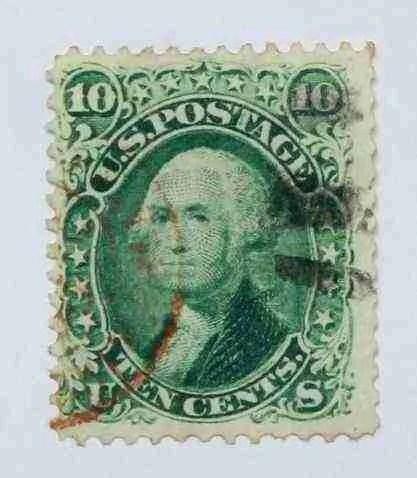 1861 Washington 10c - USC 15