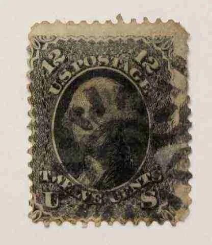 1861 Washington 12c - USC 16