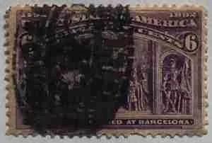 1893 Columbian Exposition 6c