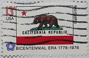 1976 California Flag 13c