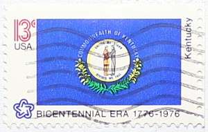 1976 Kentucky Flag 13c
