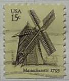 1978 Massachusetts Windmill 15c