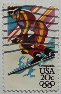 1984 Downhill Skiing 20c