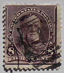 1893 Sherman 8c