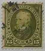 1898 Clay 15c