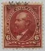 1898 Garfield 6c