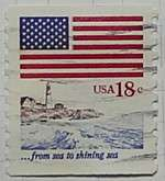 1981 Flag and Sea 18c