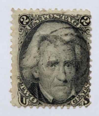 1861-1866 Jackson 2c