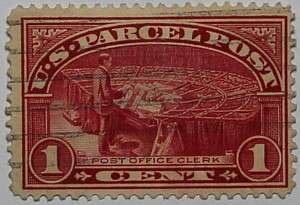 1913 Post Office Clerk 1c