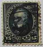 1894 Clay 15c