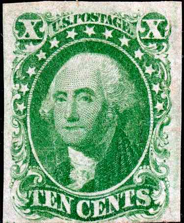 1855 Washington 10c