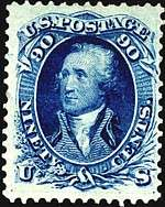 1861 Washington 90c