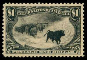1898 Cattle in Storm $1