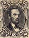 Abraham Lincoln 15c black