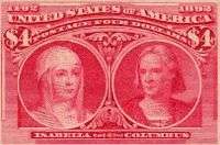 Isabella and Columbus $4