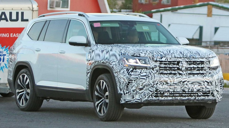 2021 VW Atlas Facelift, Sport Cross Model Release Date