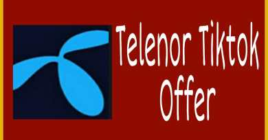 How to activateTelenor Tiktok offer, Social Media page data usage