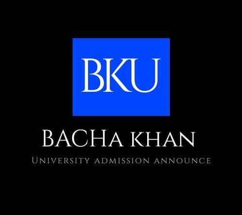 Bacha Khan University Admission announcement