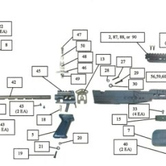 M14 Parts Diagram 2001 Honda Civic Belt U S Tactical Supply Sage Accessories