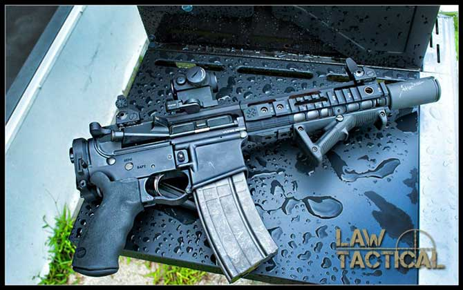 Law Tactical AR Folding Stock Adapter Gen3M