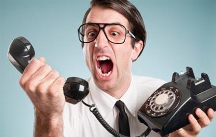 клиент звонит монтажеру