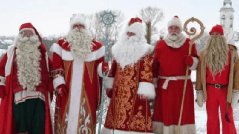 Тест по Дедам Морозам: Йоулупукки, Зюзя и Кыш-Бабай?