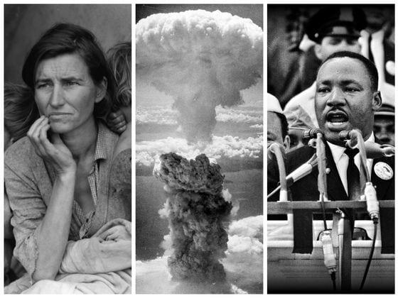 Тест из 33 исторических фото. Сколько из них вы сейчас узнаете?