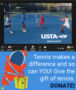 Support Tennis in the Mid-Atlantic