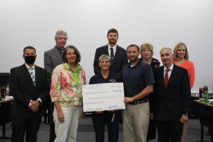 MCTA Board approving new courts with the Safe Place to Play grant