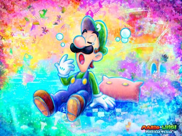 Luigi w swoim hicie!